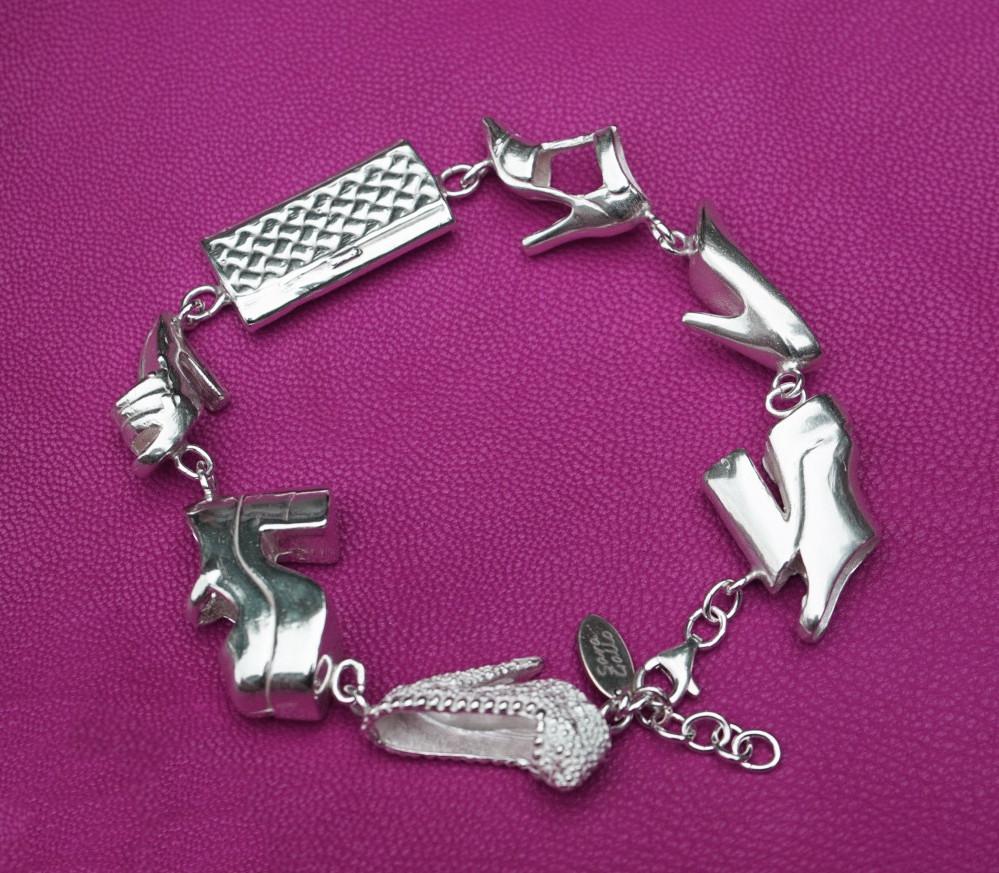 Sara Gallo Jewelry Barbie's Closet OOAK Bracelet #2