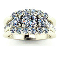 3-Band Diamond Ring
