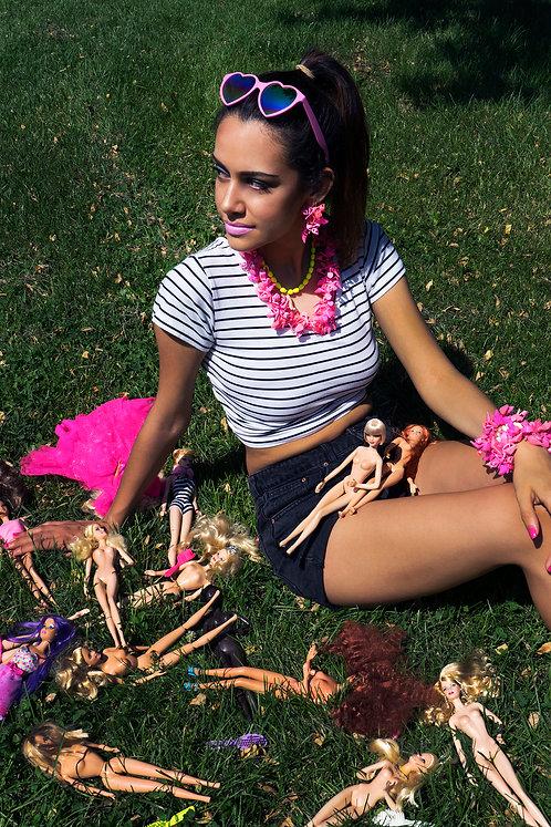 Barbie Shoe Necklace
