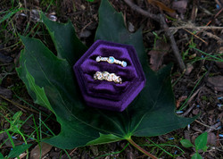 Braided Bezel Ring Opal Bezel Ring with Diamonds
