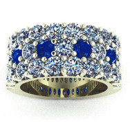 Wide Pave Band