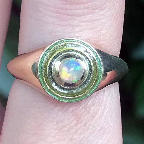 Opal Orbit Ring