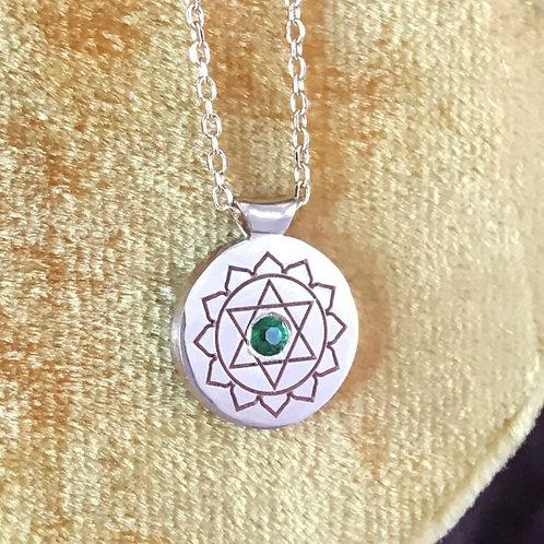 Olivia's Heart Chakra Pendant & All Chakras
