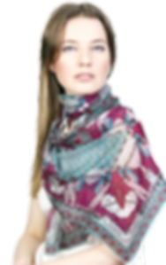 silk chiffon scarf Scorpio
