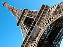 Inspiration for silk satin scarf Eiffel Gold