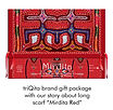 Gift packaging for Mirdita-Red silk scar