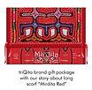 Gift packaging for Mirdita-Red silk scar