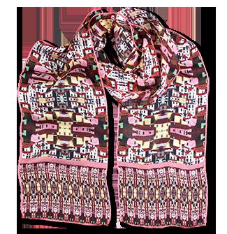 Silk chiffon scarf Miranda