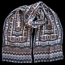 Silk chiffon scarf Berat