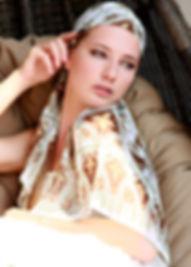 Silk-chiffon scarf Eiffel