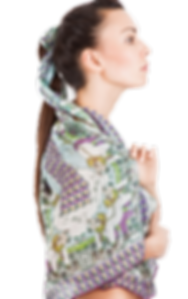 silk chiffon scarf Taurus