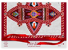 Pack for Long silk chiffon scarf Mirdita