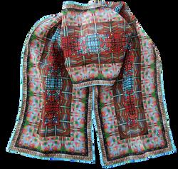 Silk chiffon scarf Pogradec