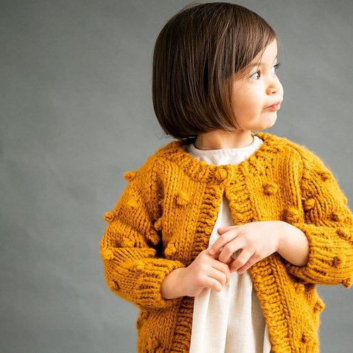 Mustard Dot Sweater