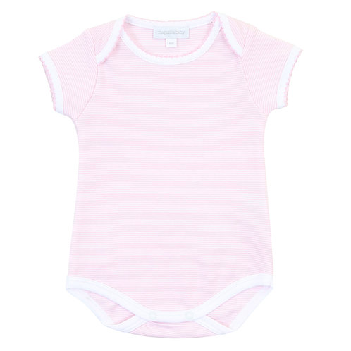 Mini Stripe Pink Bodysuit