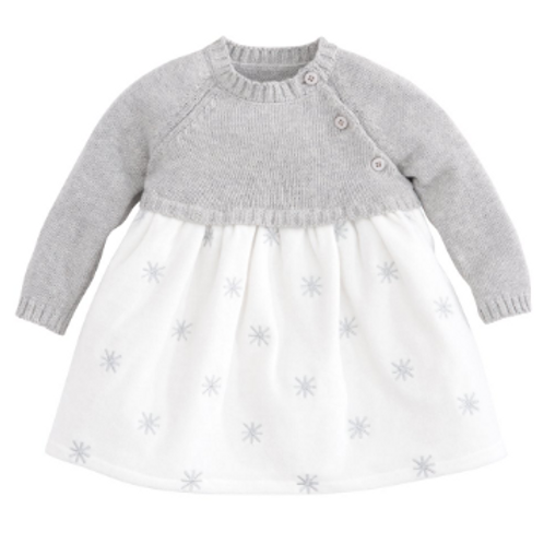 Sweater Velour Dress