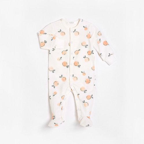 Peaches Sleeper with Organic Cotton