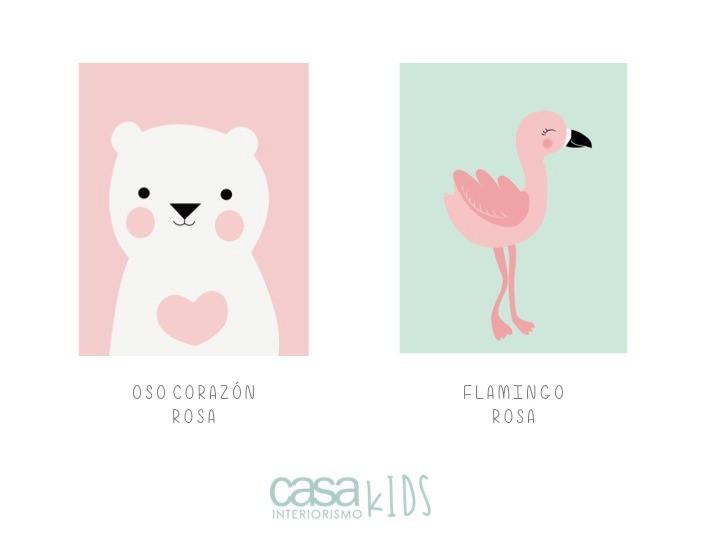 Oso/ Flamingo