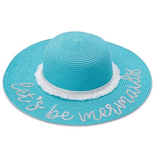 Blue Sequin Mermaid Hat