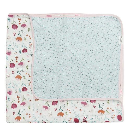 Rosey Bloom Muslin Quilt
