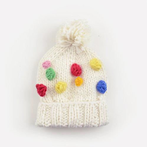 Percy Rainbow Dot Beanie