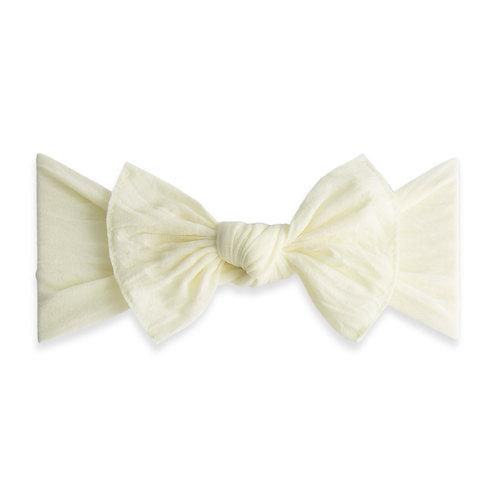 Ivory Preemie Classic Knot