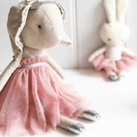 Layla Bunny Blush Sparkle