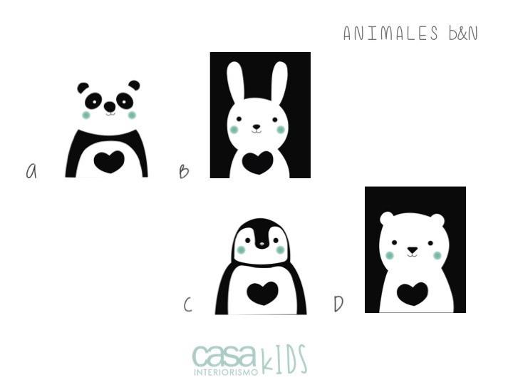 Animales B&N
