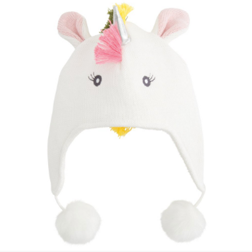 Unicorn Bright Aviator Hat