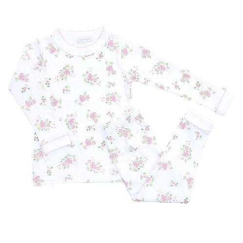 Hope's Rose Pink Long Pajamas
