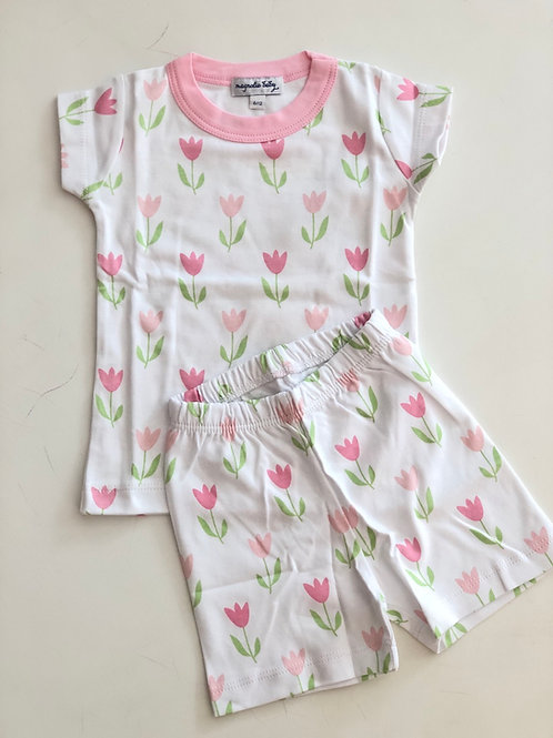 2Pz Tulips Short Pijama