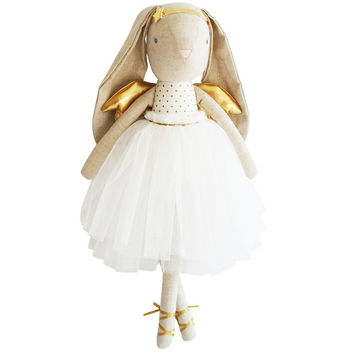 Estelle Linen Angel Bunny Gold