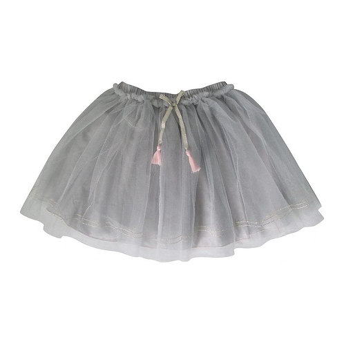 Grey Metallic Tutu