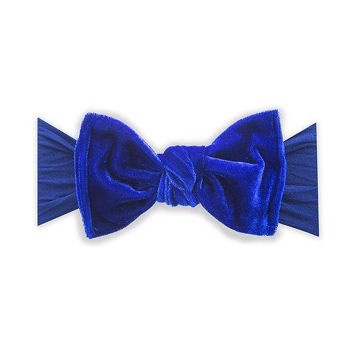 Cobalt Velvet Knot
