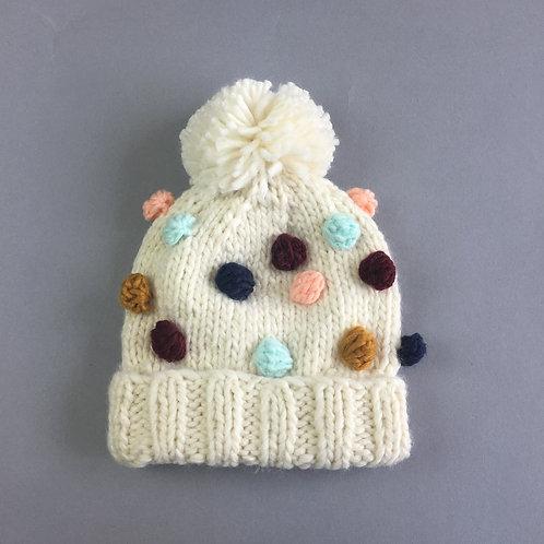 Percy Dot Rich Knit Hat