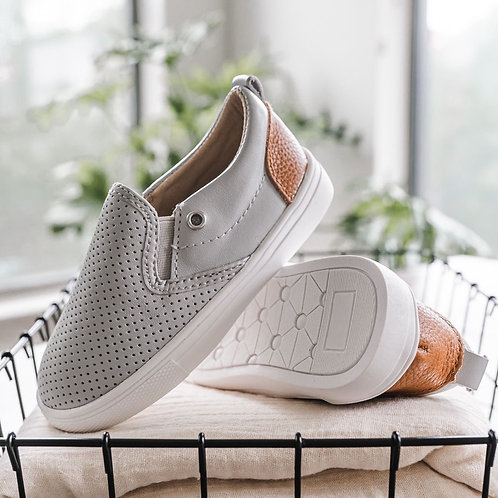 Gray Quinn Slip On