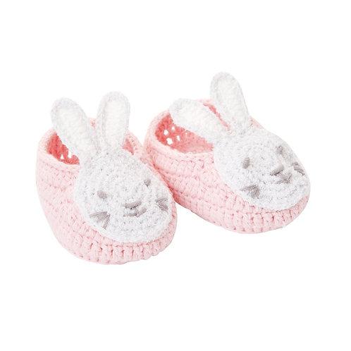 Bunny Pink Booties