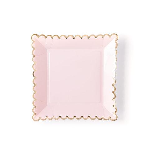 Blush Basic Plates