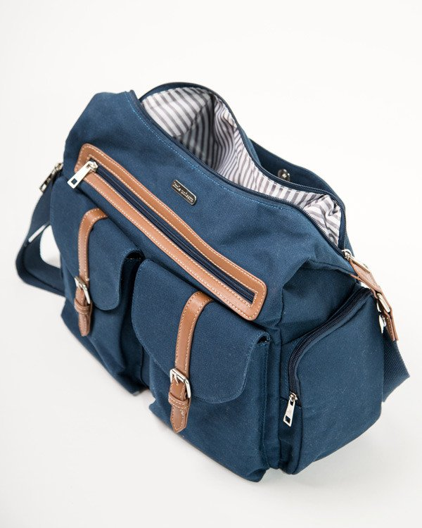 RAMBLER SATCHEL - DENIM 3