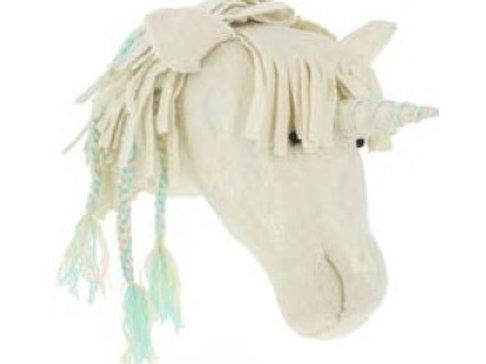 Semi- Opal Unicorn with Braids