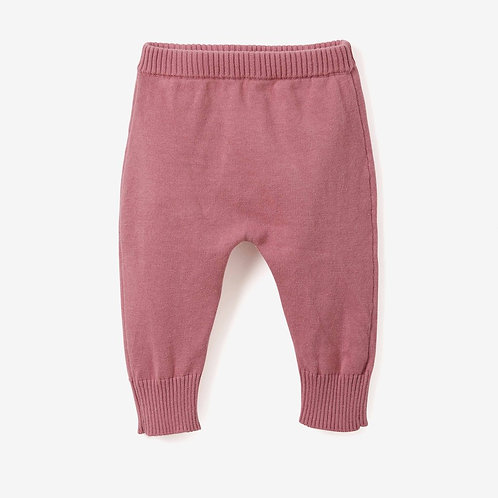 Knit Mauve Pants