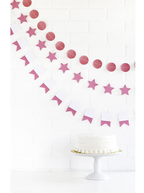 Bubble Gum Mini Party Banner Set