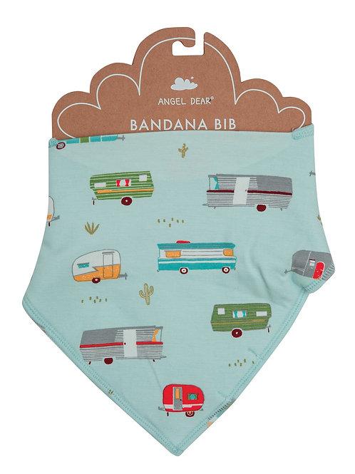 Campers Bandana Bib Green Multi