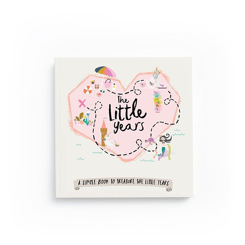 Little Years Toodler Book- Girl