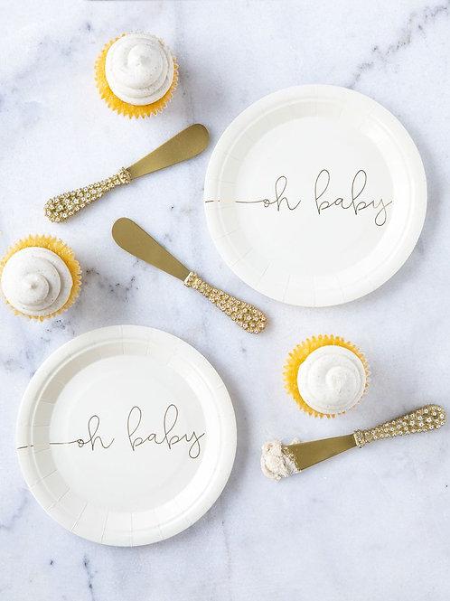 Oh Baby Basic Plates