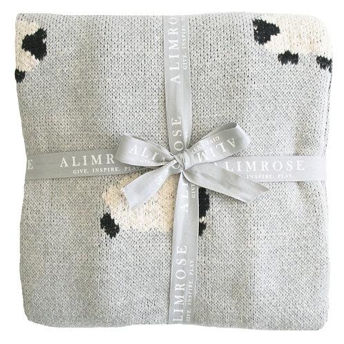 Grey Baa Baa Blanket