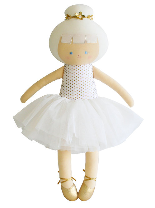 Large Ballerina Doll Gold Spot