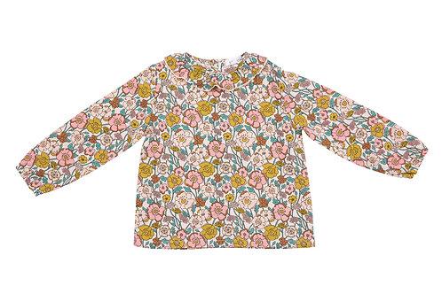 Flower Child Blouse Pink Multi