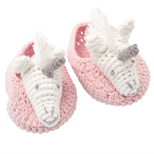 Unicorn Pink Booties
