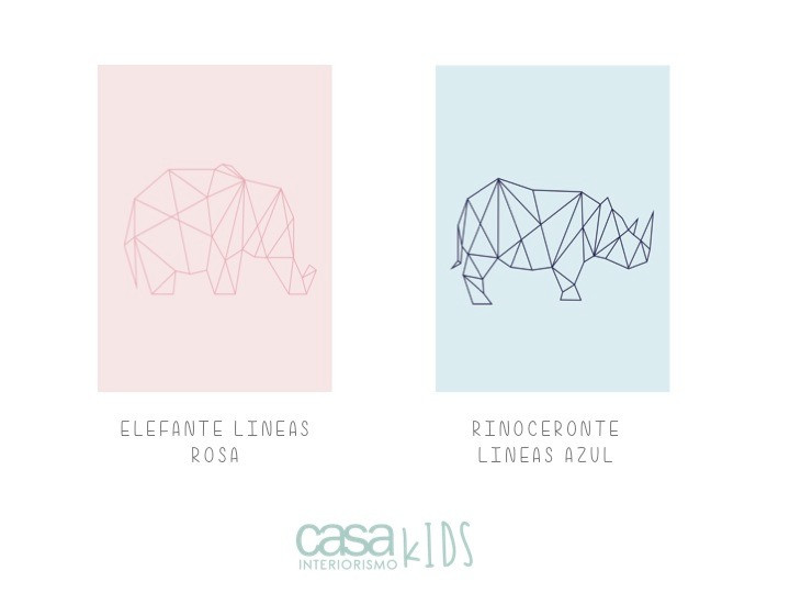 Rinoceronte lineas